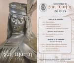 Folleto de horarios de la Solemnidad de San Martín de Tours