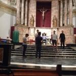 Ensayo de la obra de teatro de San Martín