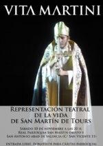 Teatro, misa y ágape para celebrar San Martín